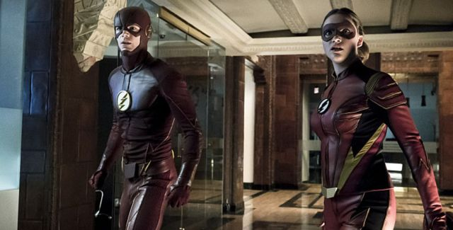 The Flash teams up with Jesse Quick in taking down two new meta-humans, Mirror Master and Top.