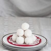Coconut Laddu To Celebrate Nobo Borsho - নারিকেলের নাড়ু