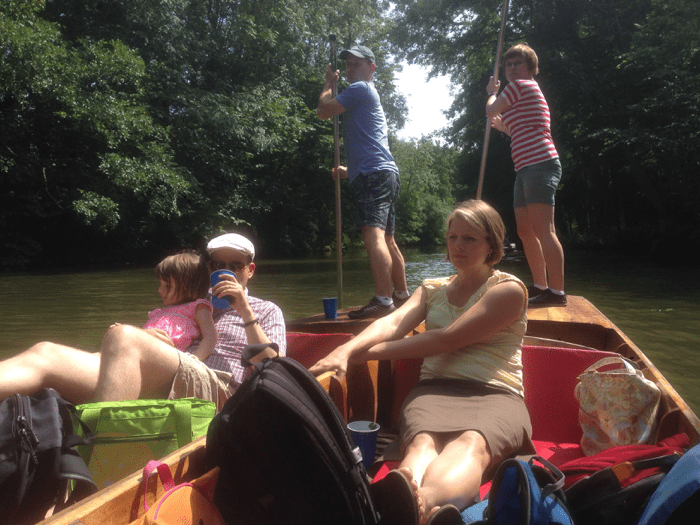 Punting with Kids!