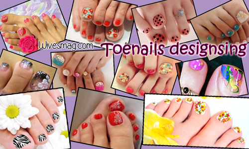 This summer, give a perfect look to your toenails