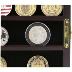 Small Crop Of Challenge Coin Display Case
