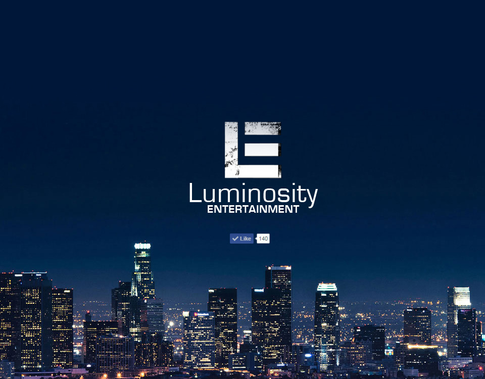 luminosity-entertainment-website