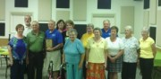 Ober Arbor Gleaners Club was presented with the Volunteer of the Year award by Community Services of Starke County.