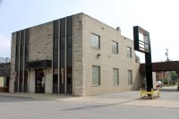 The former First Farmers Bank and Trust building on Lane Street in North Judson will soon be the town hall.