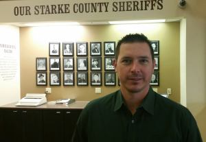 Starke County Sheriff's Office Chaplain James Adcock