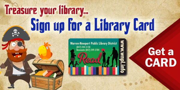 Pirates Library Card Sign Up