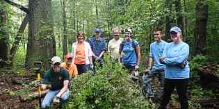PRISM in the News! Franklin Gulf Volunteer Workday