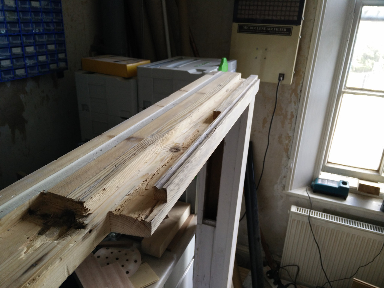 Repairing a window sill part 2 wobblycogs workshop for Window sill replacement