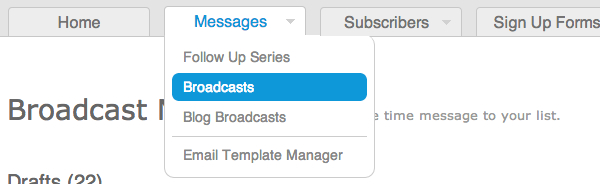 Create a Blog Broadcast step 07 1