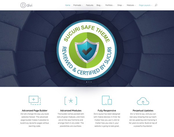 Divi WordPress theme Review Rock Solid Security