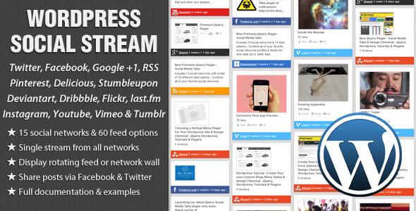 20 Best Social Media Plugins For WordPress WordPress Social Stream