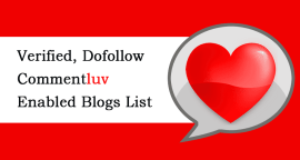 Verified Commentluv Enabled Blogs List 2016 Featured