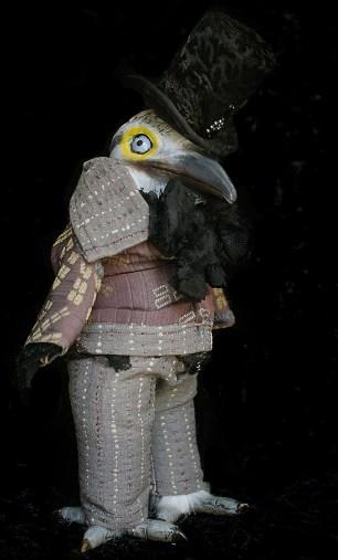 Gentleman Woodpecker Doll