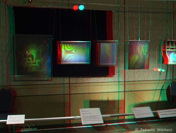Hologram exhibit
