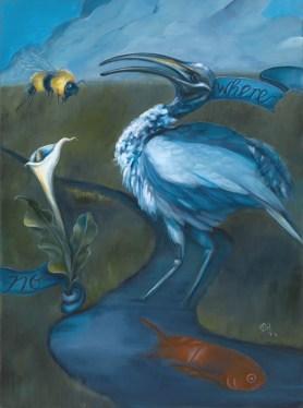 "ABSENTIA | 2011 | oil on canvas, 17"" x 21"""