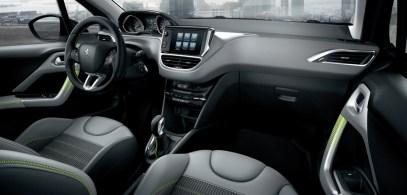 Innenansicht vom neuen Peugeot 208