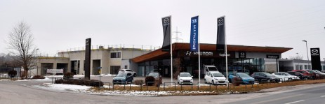Der Zubau einer neuen Werkstätte zum bestehenden Firmengebäude in der Industriestraße II/2, 2620 Ternitz, schreitet zügig voran.