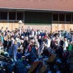 Erntedank-Gottesdienst am Hof Vornholt gut besucht