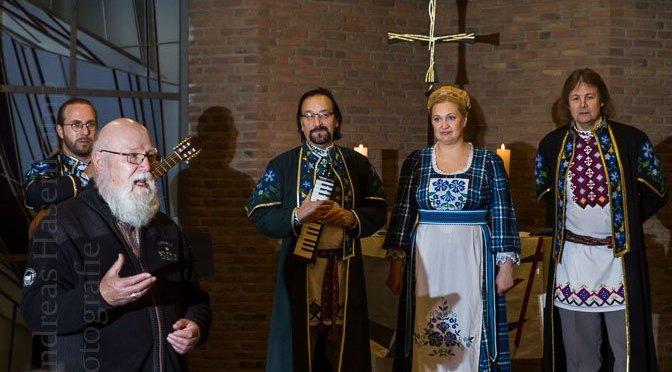 Ensemble Kressiva aus Weißrussland in Wolbeck