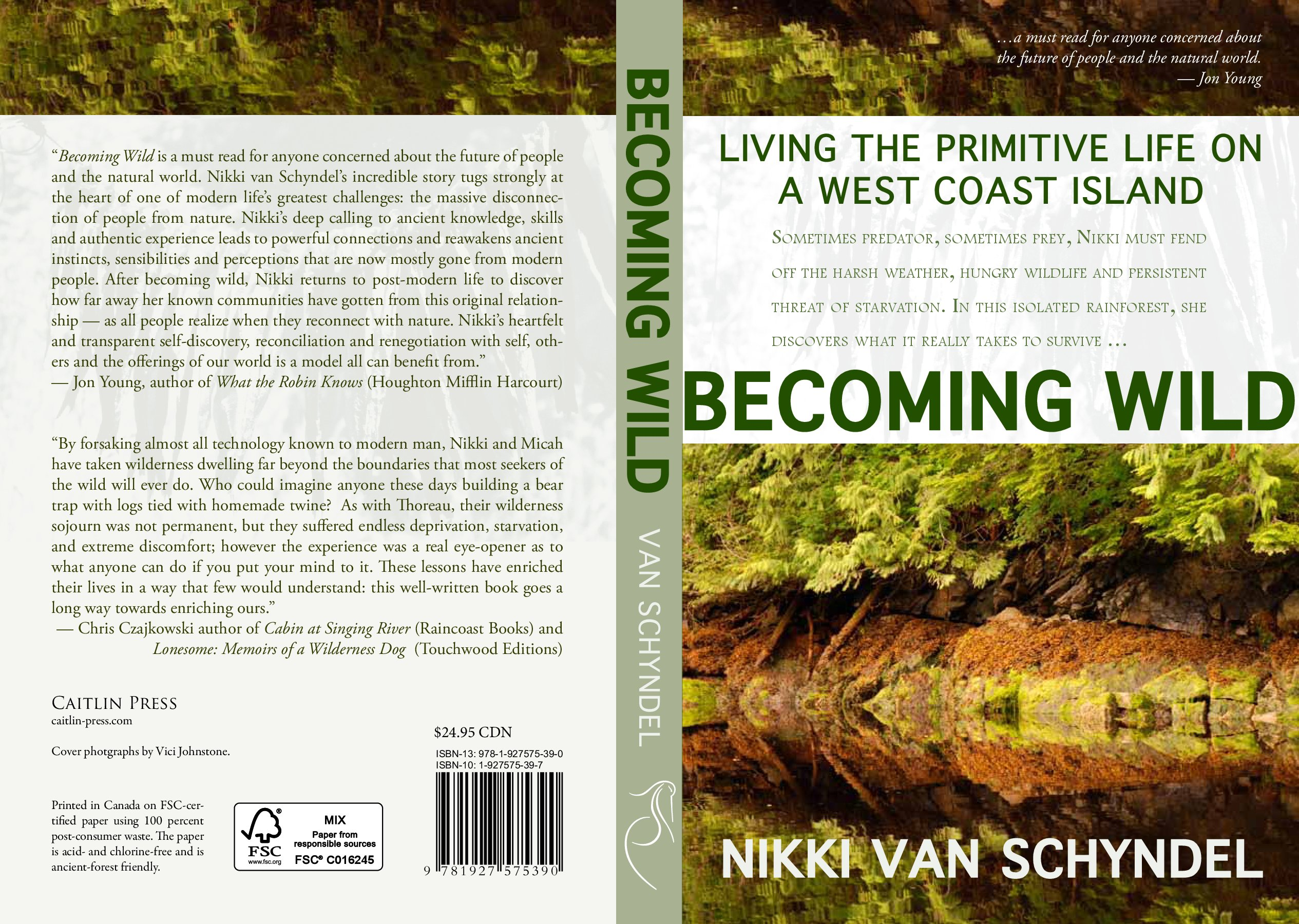 """Nikki van Schyndel """"Becoming Wild"""" Book Review 