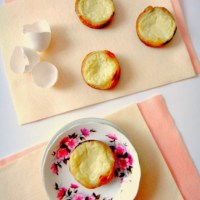 Egg Tarts in Puff Pastry Crust