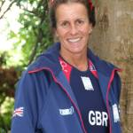 Sue in GB kit