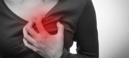 woman with acute chest pain