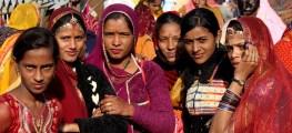 women in Pushkar