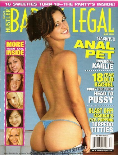 hustler barely legal magazine covers