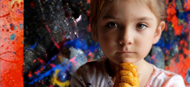 Aelita Andre – the 2 year old artist