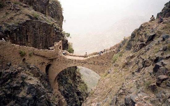 The Shahara Bridge - Yemen
