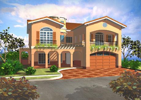 Mediterranean Style House Designs