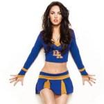 Megan Fox as cheerleader