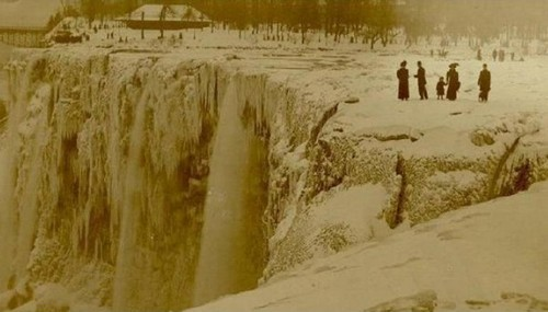 historical photographs niagrafalls