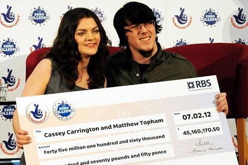 Lottery Games winners