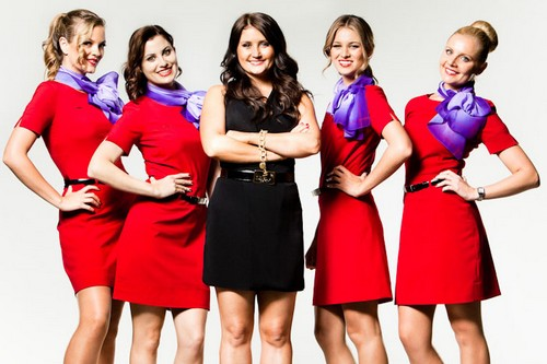 Virgin Australia Hot Stewardess