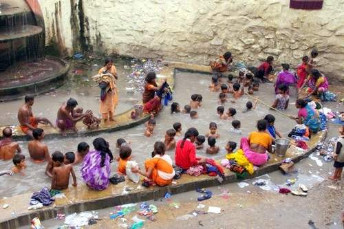 Brahma Kund Hot Springs