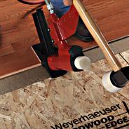 Hardwood Edge Install