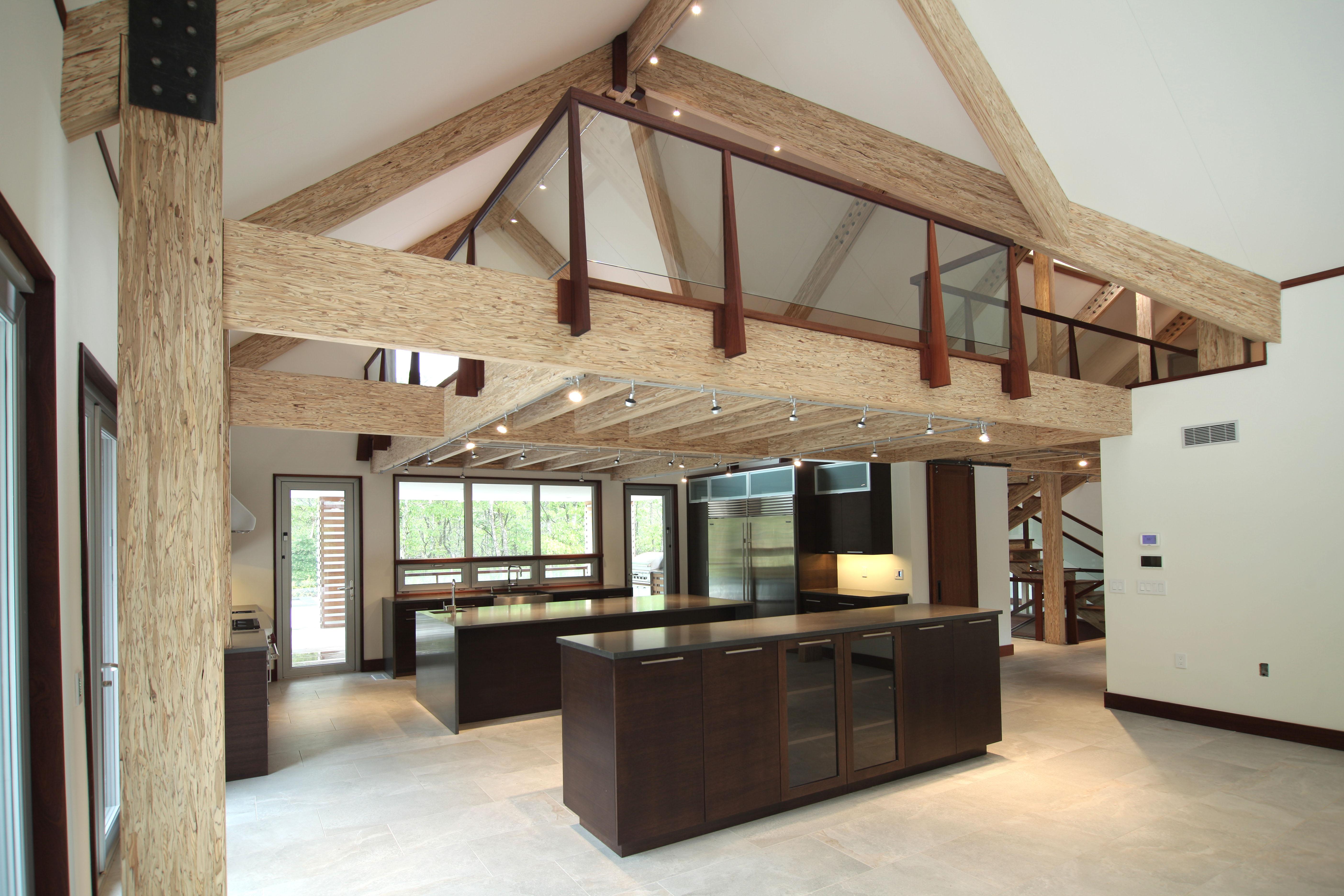 ^ Weyerhaeuser :: Modern Barn House Showcases fficiency, Daylight ...