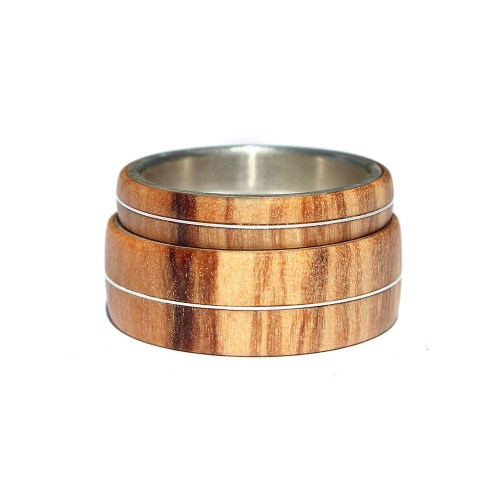 Medium Crop Of Wooden Wedding Rings