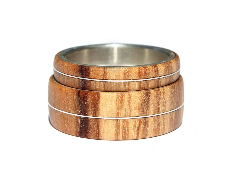 Large Of Wooden Wedding Rings