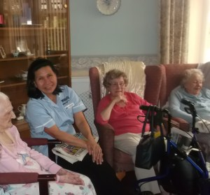 Staff and residents