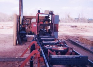 Robert's been in the lumber sawing business a long, long time. When he and his son started their own business, they chose a TimberKing sawmill because it has a rugged 4-post head.