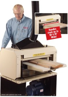"""Here's the 18"""" Woodmaster Molder/Planer like the one Ralph uses in his shop."""