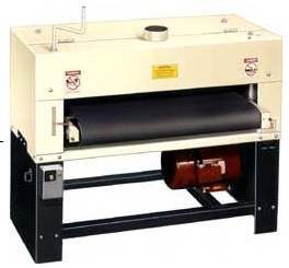 """Ralph owns a Woodmaster Drum Sander, too. """"Very useful because I make a lot of furniture."""""""