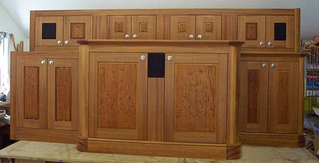 Onboard a boat, space is at a premium. Glen uses fine cabinetry skills to make the most of every square inch.