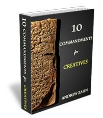 """10 Commandments for Creatives"" by Andrew Zahn"