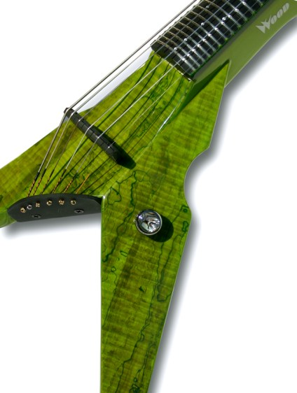 Lime Green Burl Exotic Top