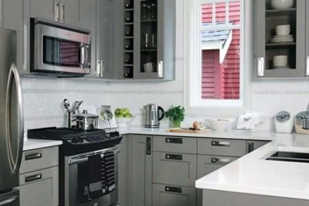 u shaped kitchen 19