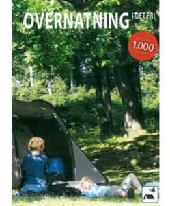 Overnatning i det fri, wild camping in Denmark